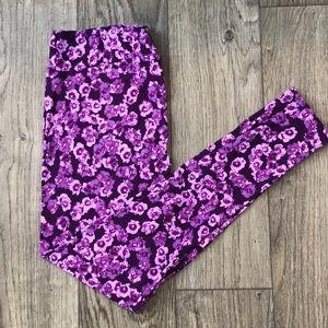 Tall & Curvy (TC) LulaRoe Floral Leggings